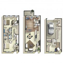 Bell Bradburn two bedroom apartments