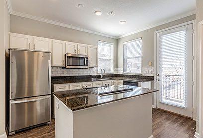Bell Bradburn apartments kitchen