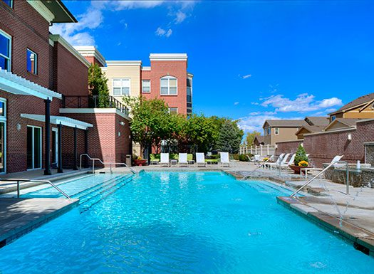 Bell Bradburn apartments pool