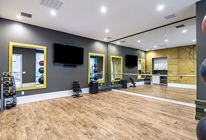 Bell Bradburn apartments yoga studio