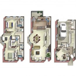 Bell Bradburn three bedroom apartments