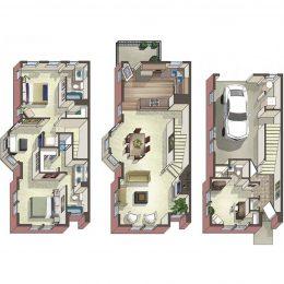 Bell Bradburn three bedroom apartments